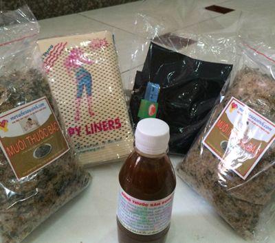 Bán muối thảo dược thuốc bắc săn bụng sau sinh tại Quận Tân Phú